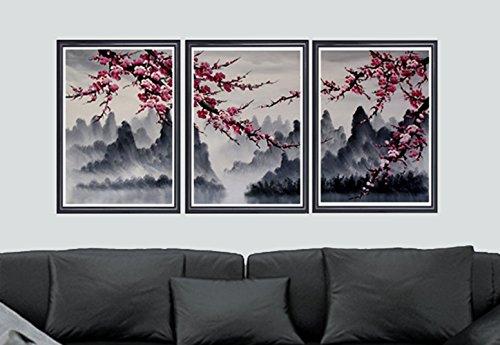 Cherry Blossom art prints, Japanese cherry blossom art