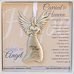 The Grandparent Gift Angel Infant Memorial Keepsake