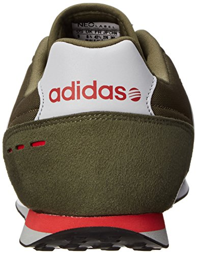 Adidas NEO Men's City Racer Fashion Sneaker, Dark CargoOnix