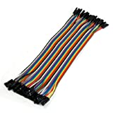 Best uxcell Long Boards - uxcell20cm Long F/F Solderless Flexible Breadboard Jumper Cable Review
