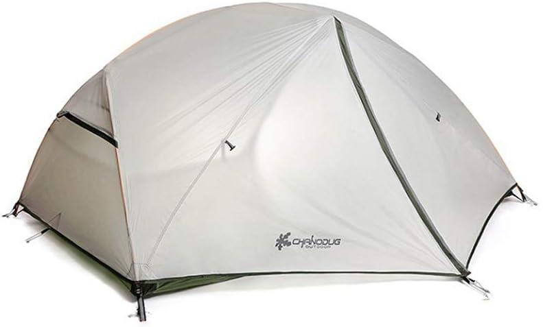 キャンプテント 1-2人用 テント 二重構造 軽量 防水 防風 航空アルミ 4シーズン ソロテント アウトドア テント 登山 ツーリング キャンプ FX-2022