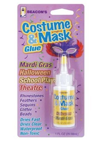 Beacon Costume & Mask Glue, 1-Ounce (Dance Costumes/ Wear)