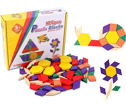 Onshine Wooden Pattern Educational Children Set product image
