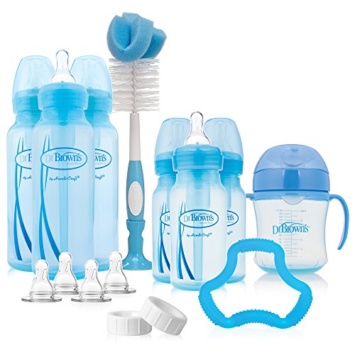 Dr Brown's Options Bottle Gift Set - Blue
