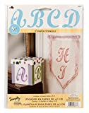 Plaid Letter Stencil Value Pack (5-Inch), 28677
