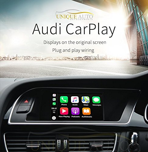 Audi Navigation Upgrade Audi CarPlay with Reversing Camera Interface for  Audi B8/B8 5 A4 A5 Q5 2007-2015 for Concert Symphony Stereo GPS Latest