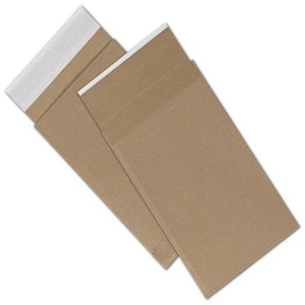 Natural Kraft Unprinted Eco-Mailers, 6 x 10''