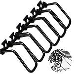 51rvv9YoVhL. SS150 dancepandas Protezione Deragliatore Posteriore MTB 6PCS Protettore Cambio in Metallo Nero per Accessori da Ciclismo per Esterni