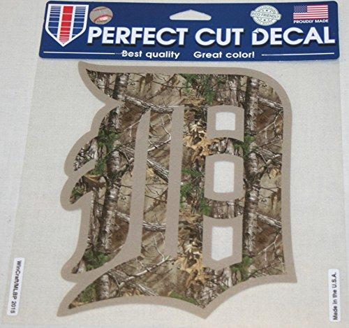 MLB Detroit Tigers 22183015 Perfect Cut Color Decal, 8