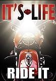 Russ Berrie 644627 Harley-Davidson It s Life, Ride it Garden Flag