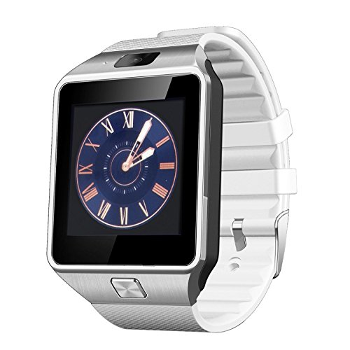 Cheap Otium Gear S Bluetooth Smart Watch WristWatch Sim insert anti-lost Call reminder Phone Mate For Android Smartphone Samsung/HTC/ LG (White)