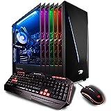 iBUYPOWER Pro Gamer Computer Desktop PC Intel i9-9900k 8-Core 3.6 GHz, Geforce RTX 2070 8GB, 16GB DDR4 RAM, 1TB HDD, 240GB SSD, Z370, Liquid Cooling, WiFi Ready, Win 10 Home 64-Bit (Trace 9240 Black)