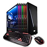 iBUYPOWER Gaming PC Desktop Trace 9220 Liquid Cooled Overclockable i7-8700K, NVIDIA Geforce RTX 2070 8GB, Z370 Motherboard, 16GB RAM,...