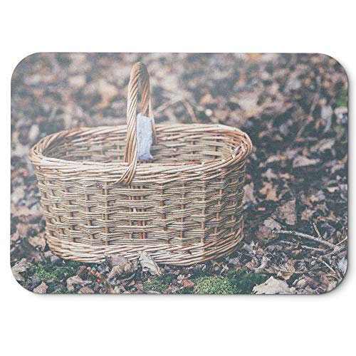 Pique Bassinet - Westlake Art - Basket Garden - Mouse Pad - Non-Slip Rubber Picture Photography Home Office Computer Laptop PC Mac - 8x9 inch (D41D8)