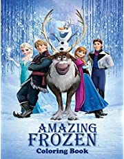 Amazing Frozen Coloring Book: 72 Plus amazing images to color, coloring book for the kids, Adults coloring book , Best coloring Book, Kids Coloring Book, Kids Book,