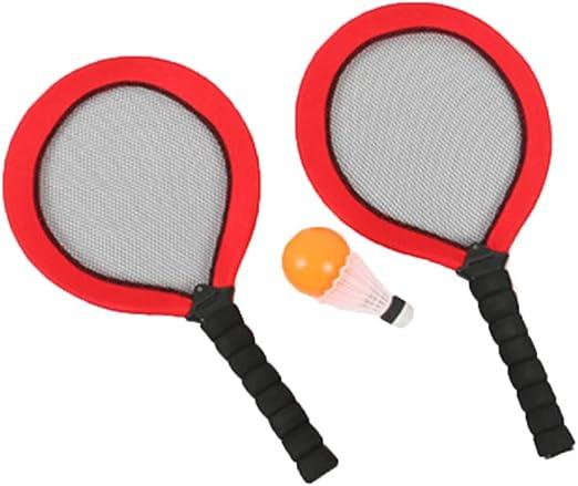 Juguete con raqueta de tenis, raquetas de bádminton para niños ...