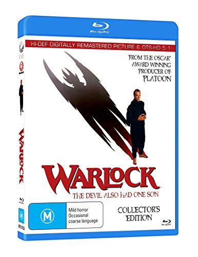 Warlock - Blu-Ray - 1989 ( Warlock: The Magic Wizard )