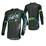 O'Neal Men's Element Villain Jersey (Gray, Large),