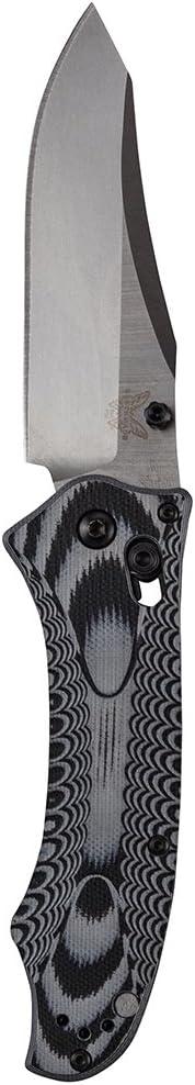 5. Benchmade Rift Charcoal 950 Folding Knife