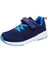 Kids Fashion Sneakers Lightweight Breathable Walking Shoes Comfort Casual Sport Shoes for Boys Girls