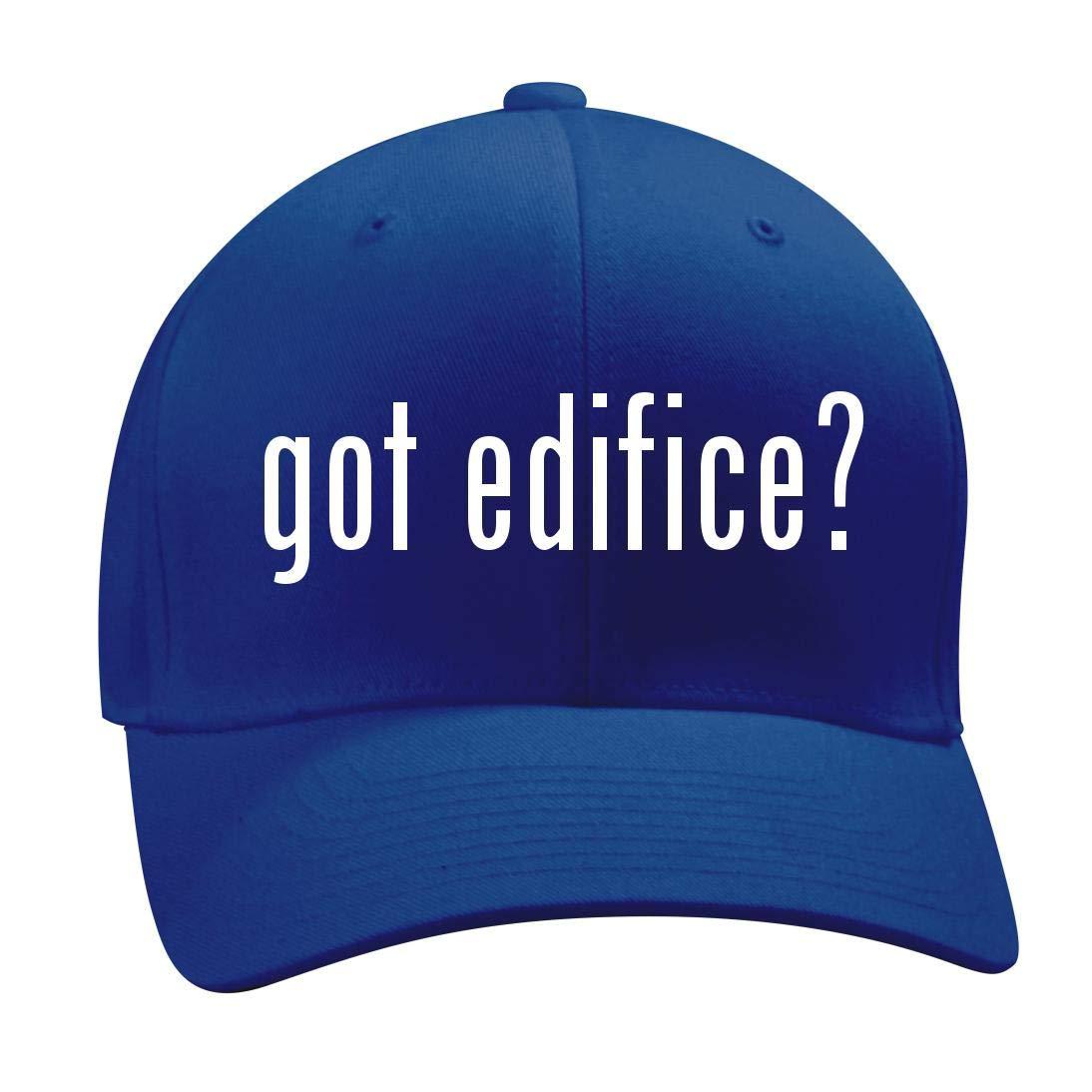 got Edifice? - A Nice Men's Adult Baseball Hat Cap, Blue, Small/Medium by Shirt Me Up