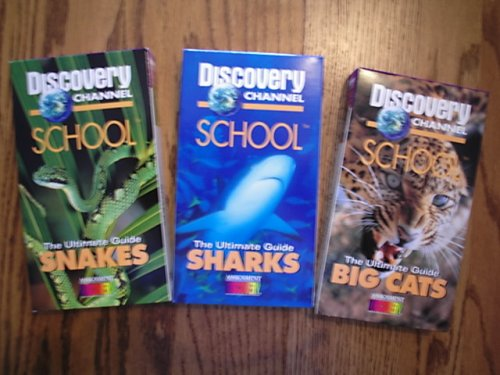 (Discovery Channel School VHS 3-Pack The Ultimate Guide Big Cats, Sharks, Snakes)