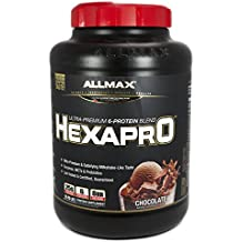 ALLMAX Nutrition Hexapro Ultra-Premium Protein MCT Coconut Oil Chocolate 5 5 lbs 2 5 kg