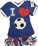 APINATA4U I Love Soccer Jersey Pinata