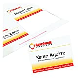 "Avery Name Badge Insert Refills, 3"" x 4"", Box of 300 (5392)"