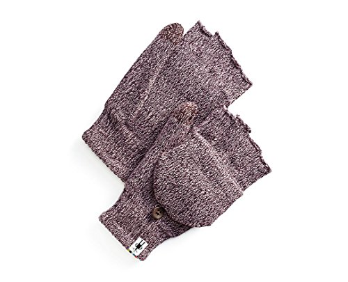 Smartwool Cozy Flip Mitt (Bordeaux Heather) Large/X-Large