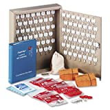 Dupli-Key Two-Tag Cabinet, 90-Key, Welded Steel, Sand, 14 x 3 1/8 x 17 1/2, Sold as 1 Each