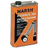 Marsh Quart of Black Stencil Ink (STMA45)