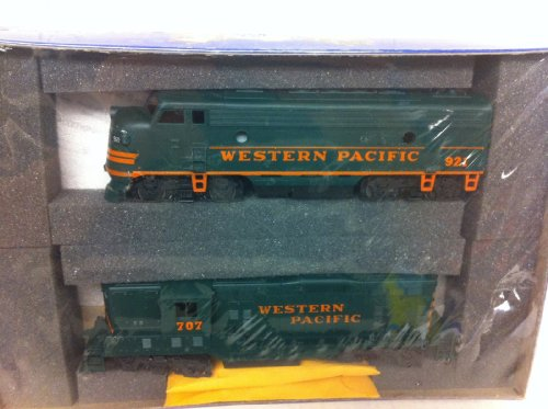 Athearn Special Edition 2205 West Pacific F7A Powered GP7 Train Cars 1996
