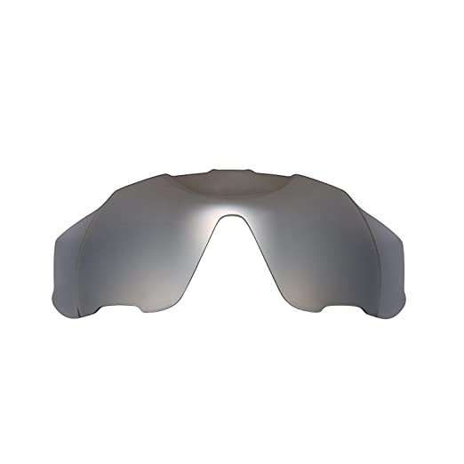 dc0dcd794f9 Image Unavailable. Image not available for. Color  Polarized Replacement  Lenses for Oakley Jawbreaker Sunglasses (Titanium) NicelyFit