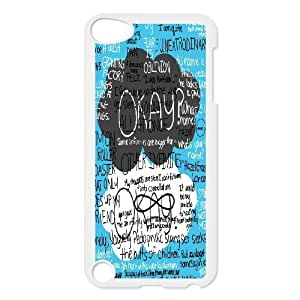 Fashion Star DIY hot Unique Ipod Touch 5 Phone Case Okay,Bumper Plastic Customized Case CD002349