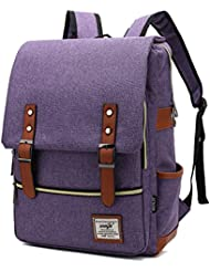 Mn&Sue Unisex Casual Dayback College School Bag Rucksack Student Laptop Backpack