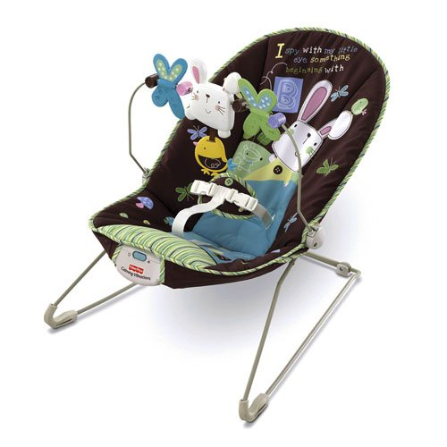 Fisher-Price Baby's Bouncer My little Eye Lightweight Bouncer (Discontinued by Manufacturer) …