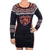 "San Francisco 49ers Women's NFL ""Big Logo"" Ugly Sweater Dress"