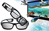(2x Pair) Samsung Rechargeable 3D Active Glasses, Black