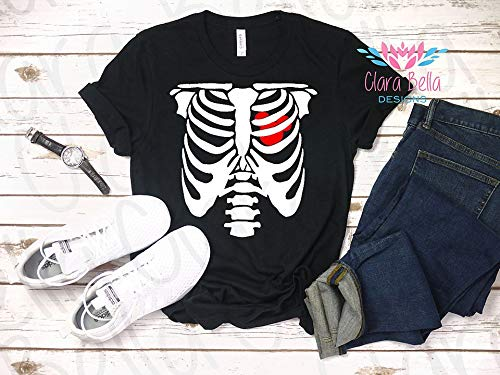 Mickey's Not So Scary Halloween Party Costumes (Mickey Skeleton, Disney Heartbeat Top, Spooky Zombie Tee, Halloween Party Shirt, Not So Scary T-shirt, Costume Top, Disney Addict, Heart)