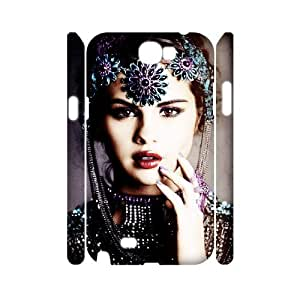 Print Your Own Pictures AXL396374 Best Cover Case For Samsung Galaxy Note 2 N7100 3D Cover Case w/ Selena Gomez