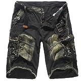 Willsa Men's Pants,WillsaFashion Casual Pocket Beach Work Casual Short Trouser Shorts Pants