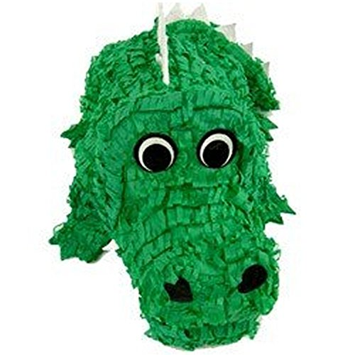 Pinatas Crocodile Pinata, Game, Centerpiece Decoration and Photo Prop for Jungle or Zoo Party Theme