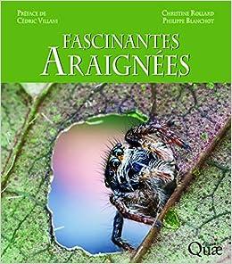 Book's Cover of Fascinantes araignées: Préface de Cédric Villani (Français) Relié – 26 octobre 2017