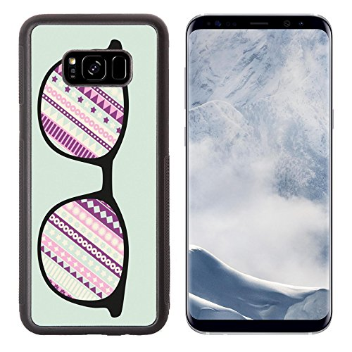 Liili Premium Samsung Galaxy S8 Plus Aluminum Backplate Bumper Snap Case IMAGE ID 33091200 Retro sunglasses with reflection for - Gentleman Sunglasses