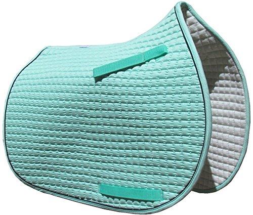 Mint Green Pony Saddle Pad | PRI Pacific Rim (Mint Green with Black Trim)