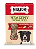 Milk Bone Healthy Favorites Granola Biscuits with Real Beef, 18-Ounce (Pack of 3), My Pet Supplies