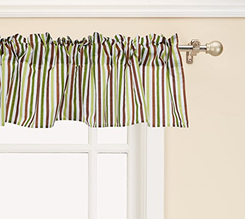 - Bedtime Originals Jungle Buddies Window Valance, Brown/Yellow