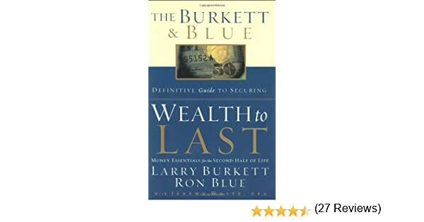 Wealth to Last: Money Essentials for the Second Half of Life ...