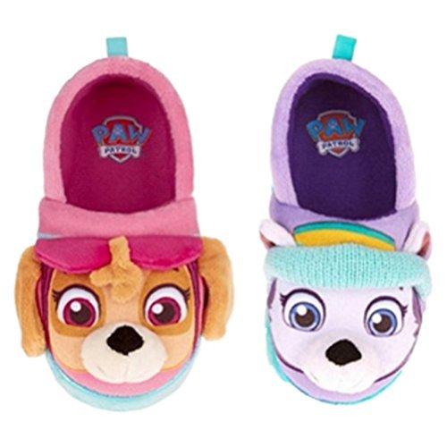 Nickelodeon Paw Patrol Toddler Girls Slippers Skye Everest (Small / 5-6) by Nickelodeon